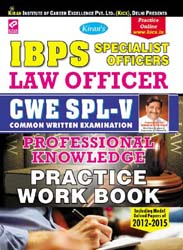 kiran | ibps specialist offier so law officer books |  1506