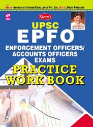 kiran publication books for upsc |  Enforcement Officers Accounts Officers Exam, Practice Work Book English |  1696
